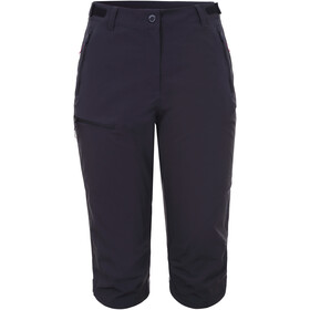 Icepeak Beattie Pantaloni Capri stretch Donna, anthracite
